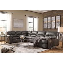 25601  Aberton 3-piece Sectional With Chaise