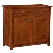 See Details - Clinton Amish Custom 2 Door Buffet