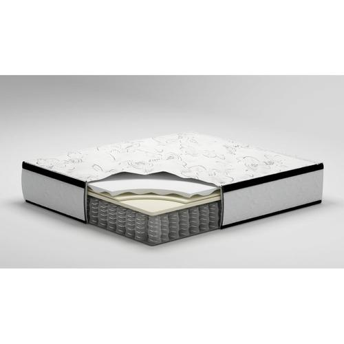 "Chime 12"" Hybrid Innerspring Mattress and Foundation"