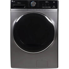 5.2-cu ft High Efficiency Stackable Steam Cycle Front-Load Washer (Graphite Silver) ENERGY STAR