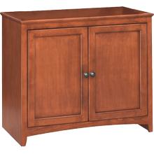 "36"" Wide Cabinet - Glazed Antique Cherry Finish"