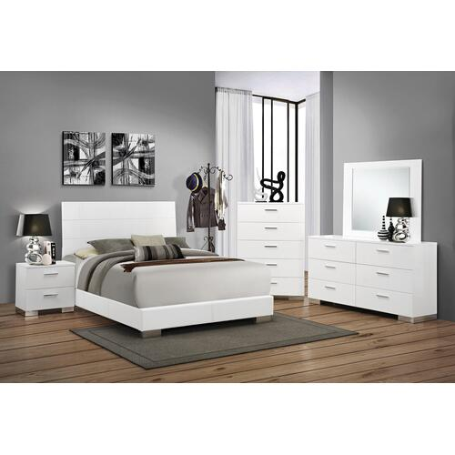 Felicity 4Pc Cal King Bed Set