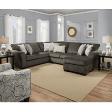 3 Piece Sectional - Harlow Ash