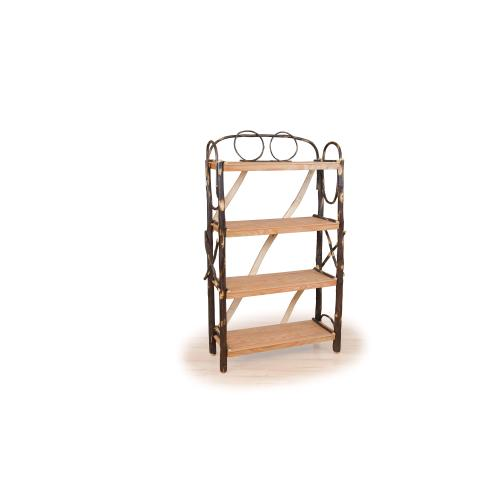 Brage Rustic Collection - Hickory Bookshelf