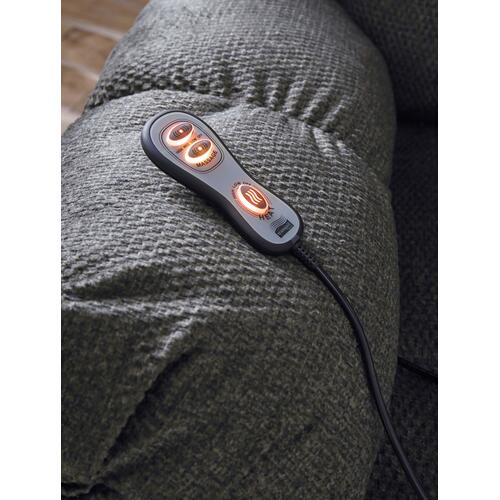 Drakestone Rocker Recliner (Heat & Massage) - Charcoal