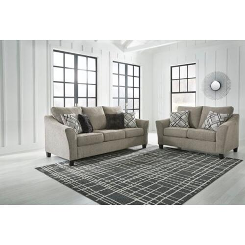 - Barnesley Sofa and Loveseat Set