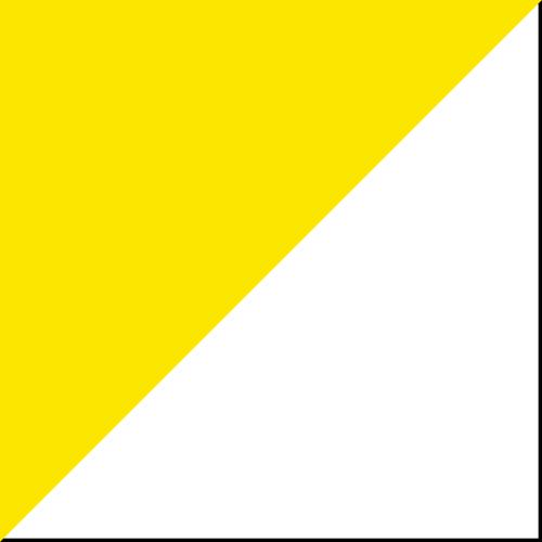 Deluxe Conversation Table Yellow and White