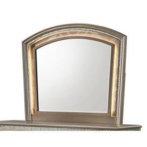 Crown Mark - Cristal 6 Piece Glam Bedroom