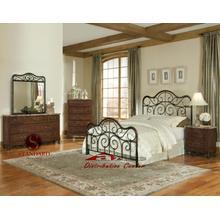 Standard Furniture 56200 Santa Cruz  Metal Aztec Bedroom set Houston Texas USA Aztec Furniture