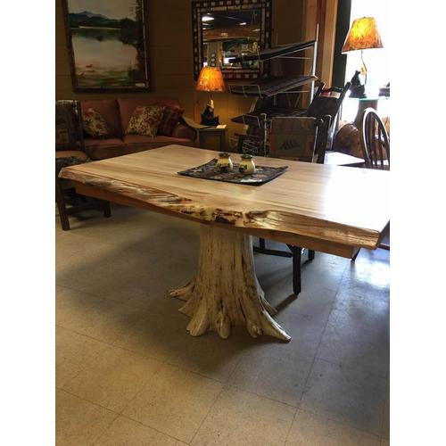 Cozy Creations Collection - Cedar And Maple Live Edge Dining Table