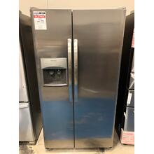 Frigidaire 25.5 Cu. Ft. Side-by-Side Refrigerator **OPEN BOX ITEM** West Des Moines Location