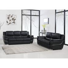 View Product - 4572 - Black Sofa Love