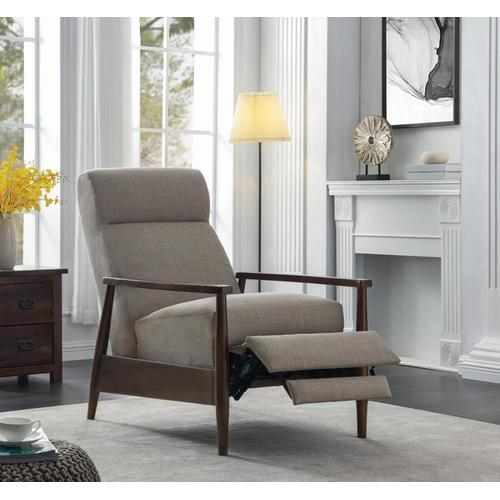 CLEARANCE Cream Pushback Recliner