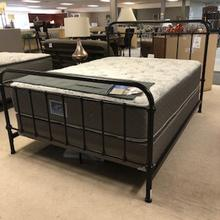See Details - Livingston Transitional Dark Bronze Queen Bed
