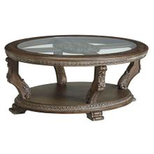 Charmond Oval Cocktail Table