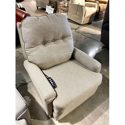 Southern Motion - Perspective Wheat Lay Flat Power Lift Chair