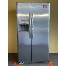 See Details - FrigidAire Stainless Steel Side by Side Refrigerator