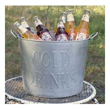 See Details - Cold Drinks Tub