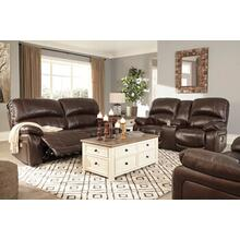 Ashley Hallstrung Power Recling Set with Adjustable Headrests in Chocolate