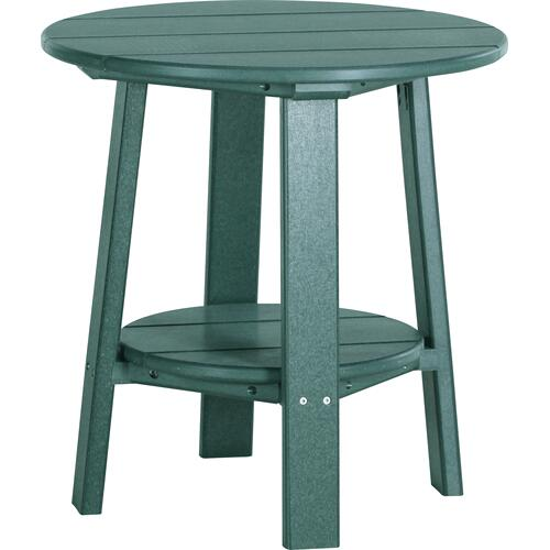 Deluxe End Table Green