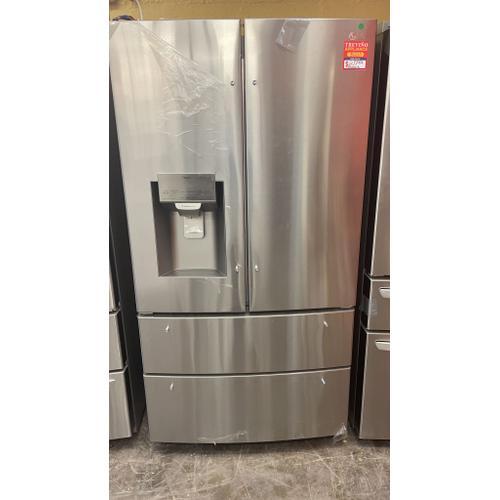 Treviño Appliance - LG 4 Door French Door Smart Refrigerator in Stainless Steel