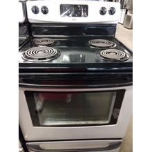 Kenmore Stainless Coil Top Range (This may be a Stock Photo, actual unit (s) appearance may contain cosmetic blemishes. Please call store if you would like additional pictures). This unit carries our 6 Month warranty, MANUFACTURER WARRANTY and REBATE NOT VALID with this item. ISI 37562 W