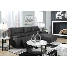 Henefer Power Reclining  Sectional Sofa W/Adjustable Headrest/RAF Chaise