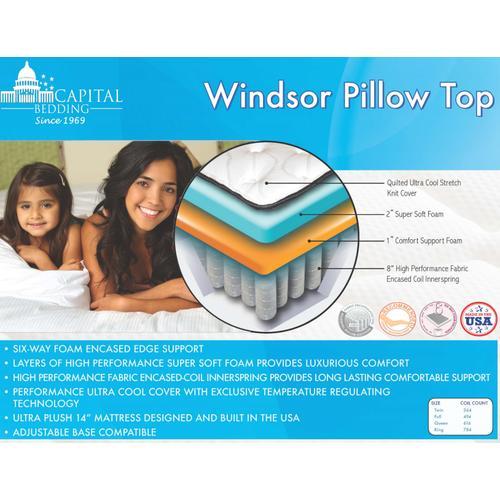 Comfort Signature - Windsor Pillow Top Mattress