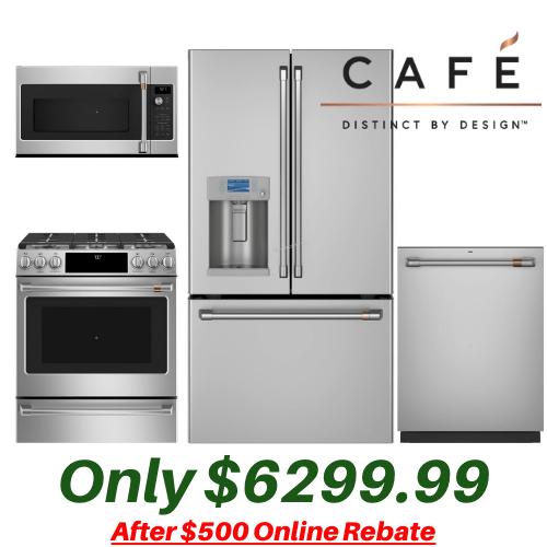 Packages - Cafe 4 Piece Kitchen Suite