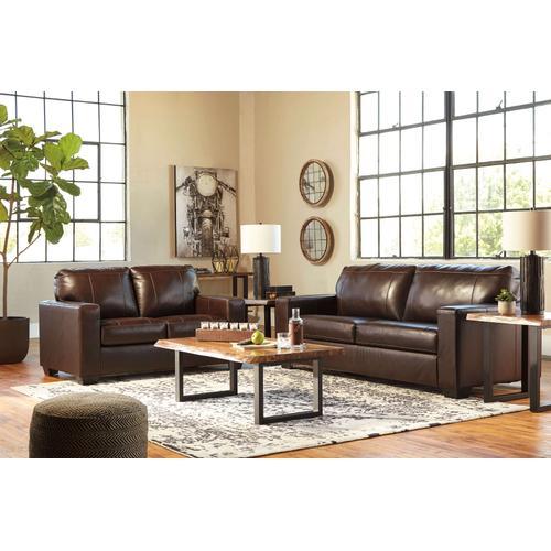 See Details - Morelos Chocolate Sofa & Loveseat