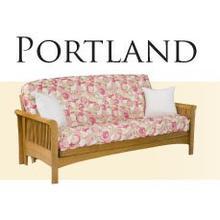 Solid Oak Futon Frame - Portland