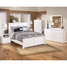 View Product - Bostwick - Queen Panel Bed, Dresser, Mirror, & 1 X Nightstand