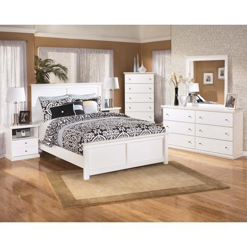 Bostwick - Queen Panel Bed, Dresser, Mirror, & 1 X Nightstand