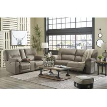 Cavalcade- Slate Reclining Sofa and Loveseat