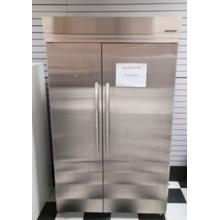 See Details - 29.5 Cu. Ft. 48-Inch Width Built-In Side-by-Side Refrigerator, Architect® Series II - Stainless Steel (USED)