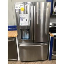 GE Profile™ Series ENERGY STAR® 22.2 Cu. Ft. Counter-Depth French-Door Refrigerator with Keurig® K-Cup® Brewing System **OPEN BOX ITEM** West Des Moines Location