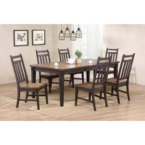 Rustic Two Tone Gathering Table and Barstools