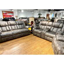 Tundra Ash Reclining Sofa & Loveseat