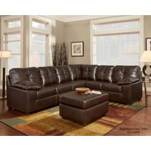 4400 Washington Living Room Sectional Ty Chocolate Houston Texas USA Aztec Furniture