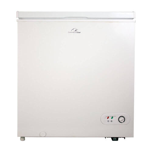 Commercial Cool - 5.2 Cu. Ft. Chest Freezer - White