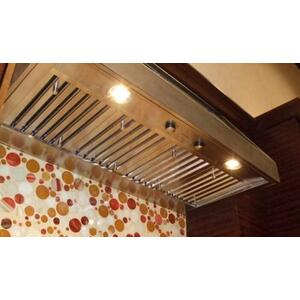 Faber INPL4822SS Stainless Steel Built-In Inca Pro Range Hood With 1200 CFM Blower, 48-Inch