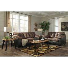 See Details - Ashley Gregale Coffee Sofa and Loveseat