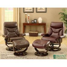 3161-61 Chocolate & Burgundy  massage chair