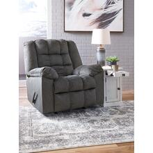 Drakestone Rocker Recliner (Heat & Massage) - Charcoal