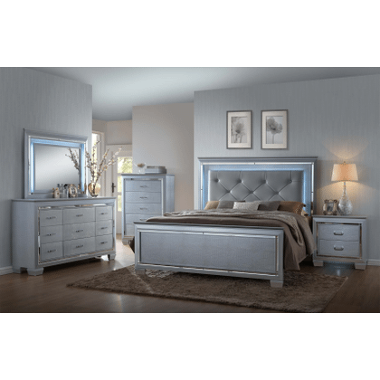 Lilian - Queen Bed, Dresser, Mirror, Nightstand, and Chest