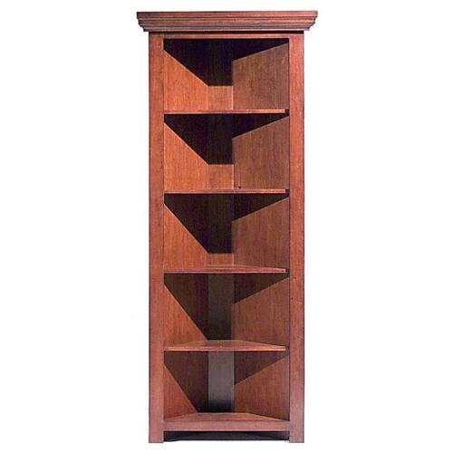 Tennessee Enterprises, Inc. - Corner Bookcase w/Door