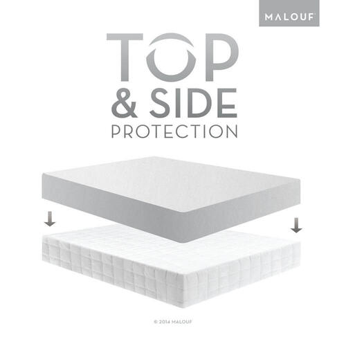 Malouf - FIVE 5IDED MATTRESS PROTECTOR WITH TENCEL   OMNIPHASE