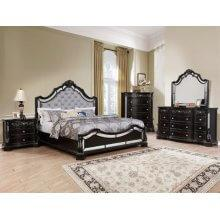 Bankston Kg Bed, Dresser, Mirror, Chest and Nightstand