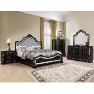 Bankston Kg Bed, Dresser, Mirror, Chest and Nightstand