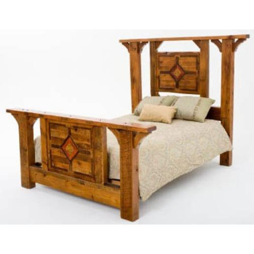 Mustang Canyon Timber Frame Bed
